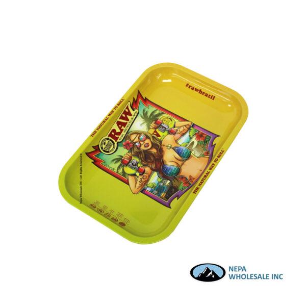 Raw Metal Tray Small 1 CT Brazil II