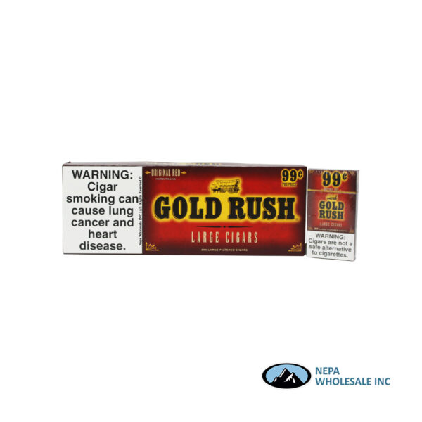 Gold Rush 100s-200 CT $0.99 Original Red