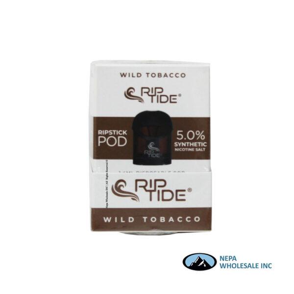 RipTide RipStick Pod 5% Wild Tobacco 1PK
