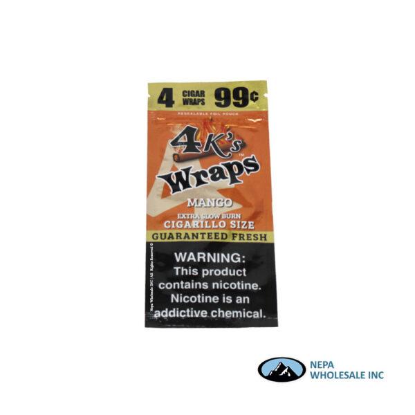 4 K's Wraps 30-4CT Mango