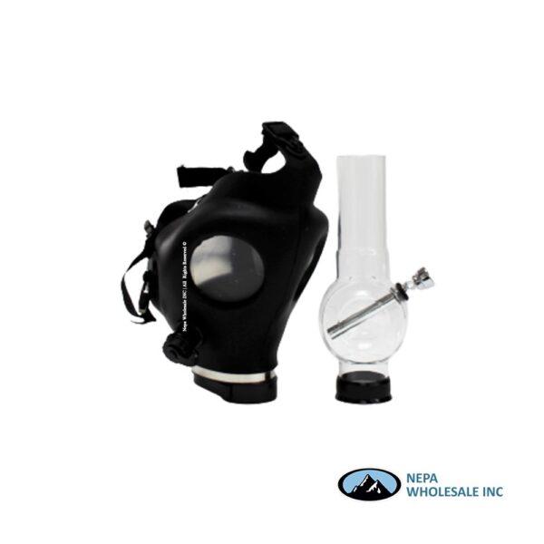 Pipe Mask Black 1Ct