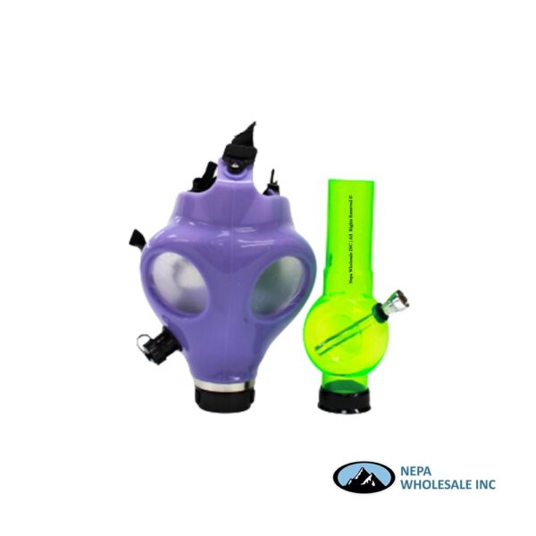 Pipe Mask Glow In Dark 1Ct