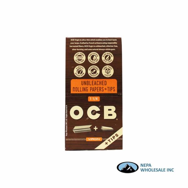 OCB Virgin 1 1/4 + Tips 24 Booklets