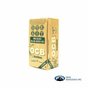 OCB Bamboo 1 1/4 + Tips 24 Booklets