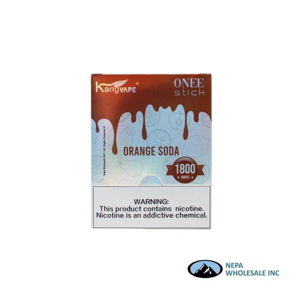 Kang Vape 5% Orange Soda 1x10PK Disposable