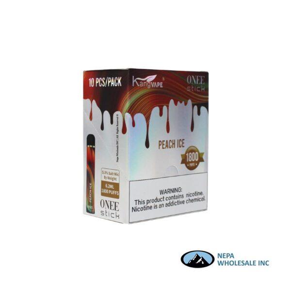 Kang Vape 5% Peach Ice 1x10PK Disposable