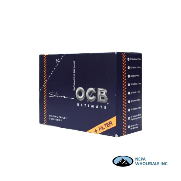 OCB Ultimate Slim + Filter 32 Booklets