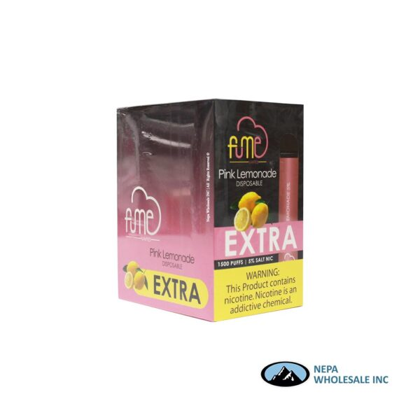 Fume Extra Disposable 5% Pink Lemonade 12PK