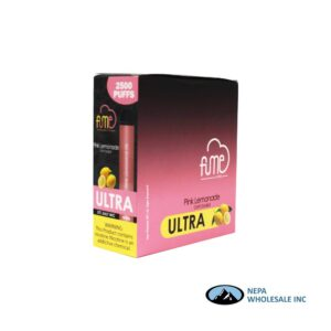 Fume Ultra 5% Pink Lemonade 10Pk Disposable