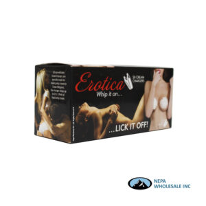 Erotica 50-8G Whip Cream Chargers