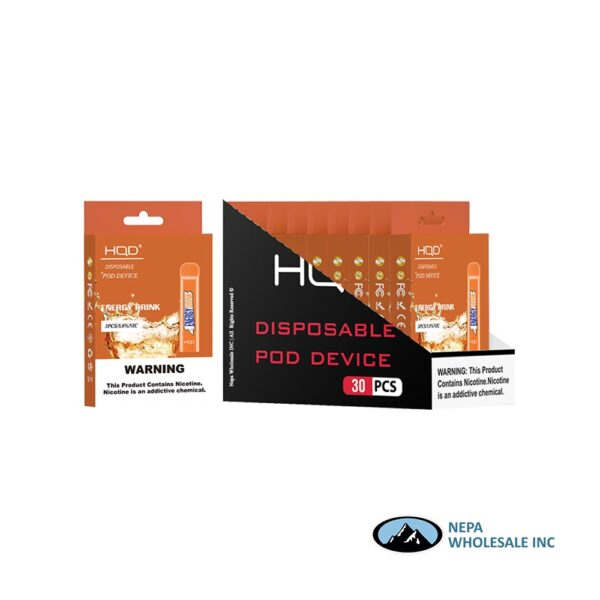 HQD Cuvie V1 Disposable 5% Energy Drink 3x10PK