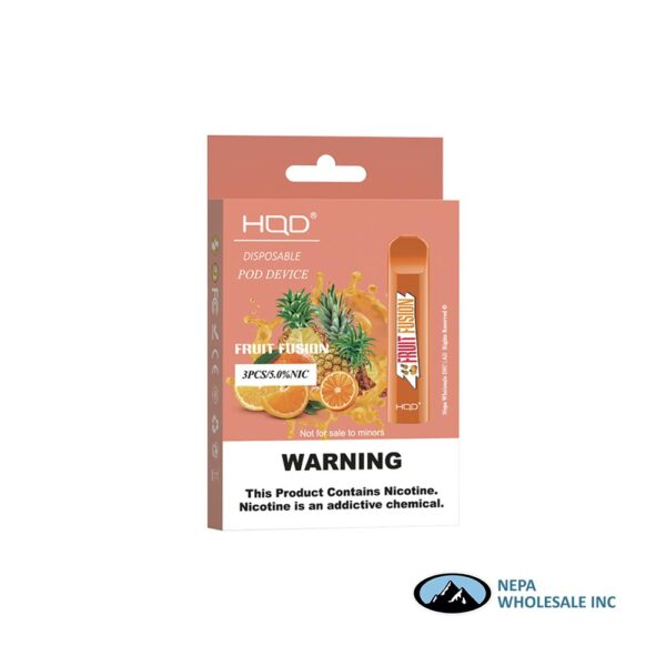 HQD Cuvie V1 Disposable 5% Fruit Fusion 3PK