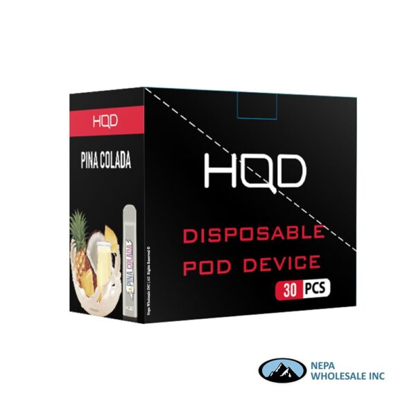 HQD Cuvie V1 Disposable 5% Pina Colada 3x10PK
