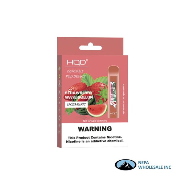 HQD Cuvie V1 Disposable 5% Strawberry Watermelon 3x10PK