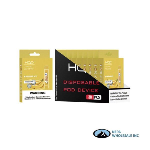 HQD Cuvie V1 Disposable 5% Banana Ice 3x10PK