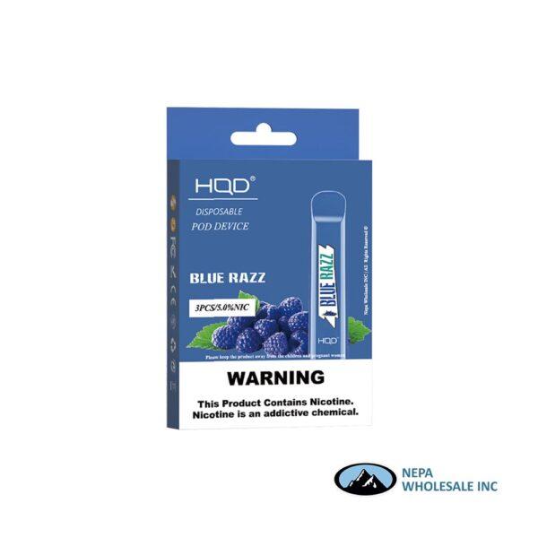 HQD Cuvie V1 Disposable 5% Blue Raz 3x10PK