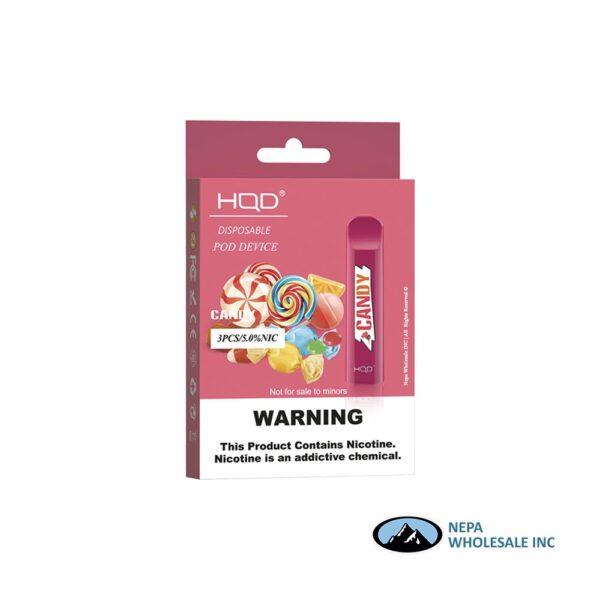 HQD Cuvie V1 Disposable 5% Candy 3x10PK