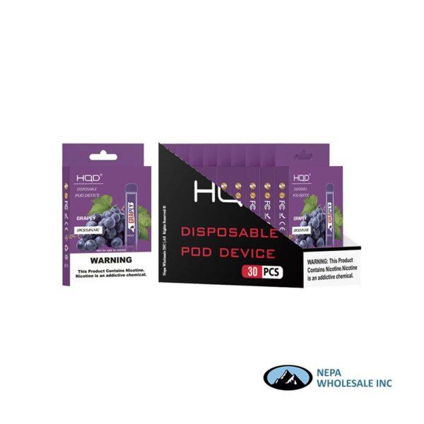 HQD Cuvie V1 Disposable 5% Grape 3x10PK