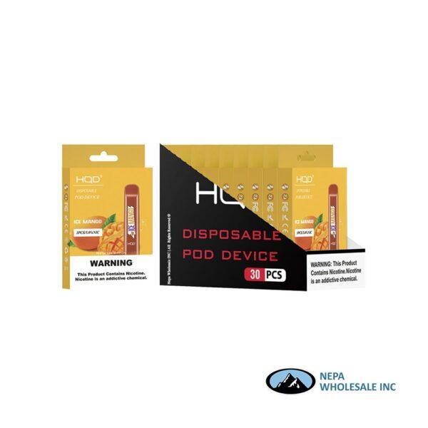 HQD Cuvie V1 Disposable 5% Mango 3x10PK