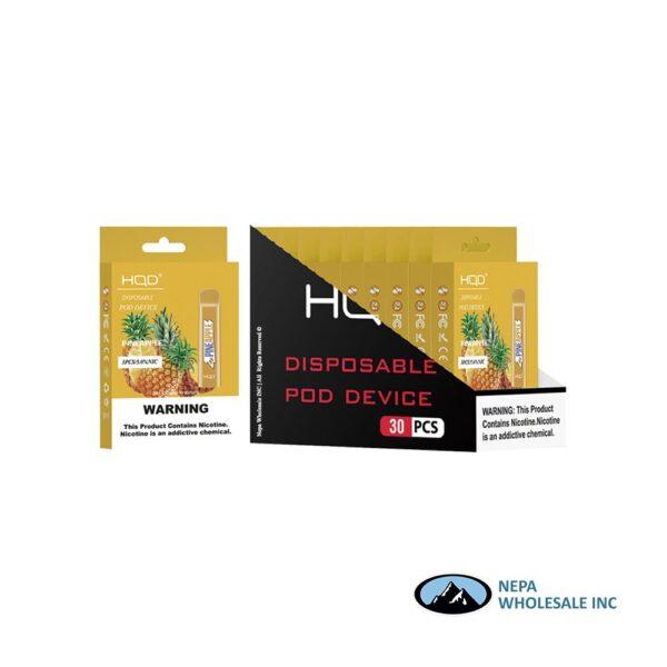 HQD Cuvie V1 Disposable 5% Pineapple 3x10PK