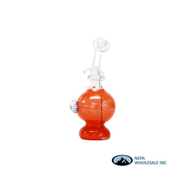 Water Pipe 6 Inch Ball Shaped With Corn Side 1CT