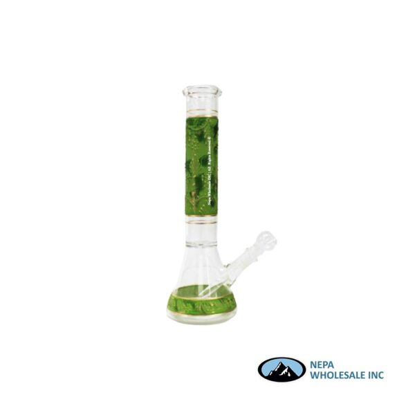Water Pipe 14 Inch Painted Design 1CT