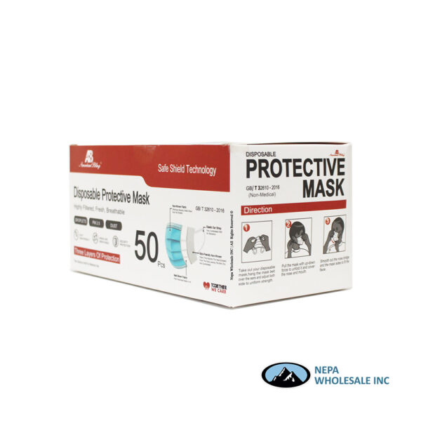 Disposable Protective Mask 50ct