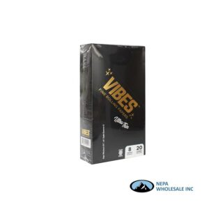 Vibes Ultra Thin King Size Cone 20 Cones Per Box