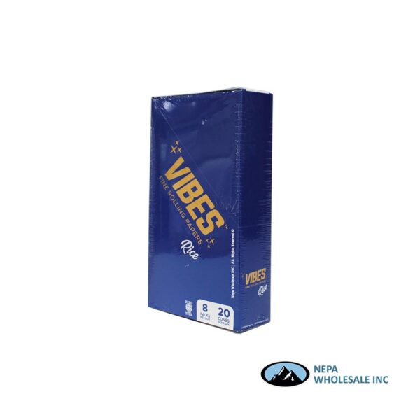 Vibes Rice King Size Cone 20 Cones Per Box