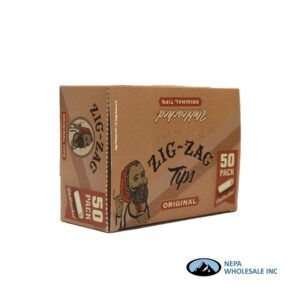 Zig Zag Original Unbleached Tips 50 Pack