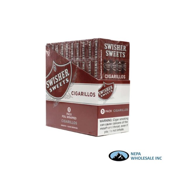 Swisher Sweet 10-5 Packs Regular Cigarillos