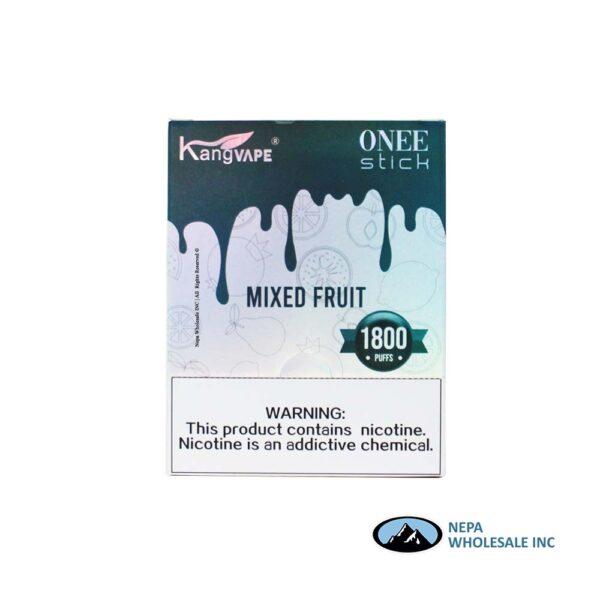 Kang Vape 5% Mixed Fruit 1x10PK Disposable