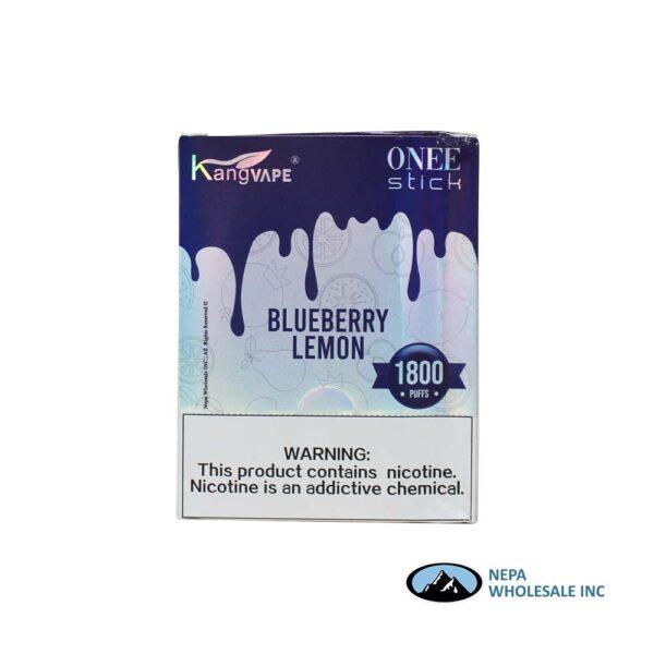 Kang Vape 5% Blueberry Lemon 1x10PK Disposable
