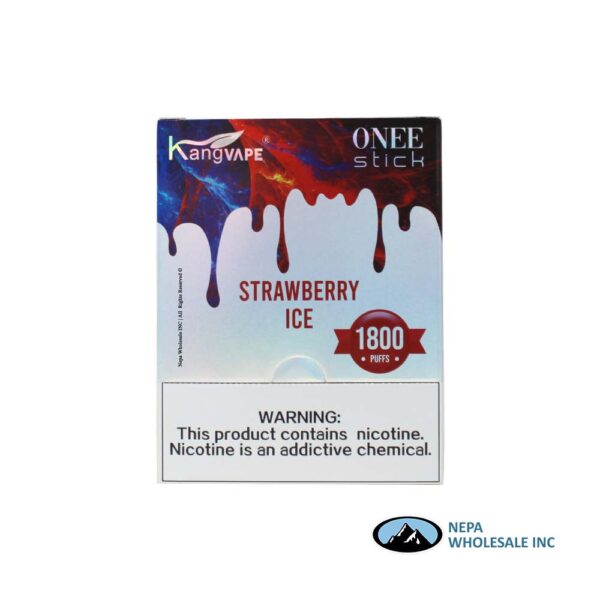 Kang Vape 5% Strawberry Ice 1x10PK Disposable
