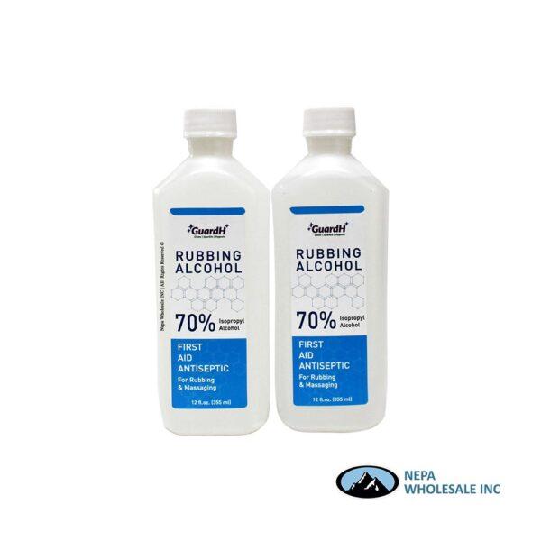 Rubbing Alcohol 70% Clear 12 FL.OZ