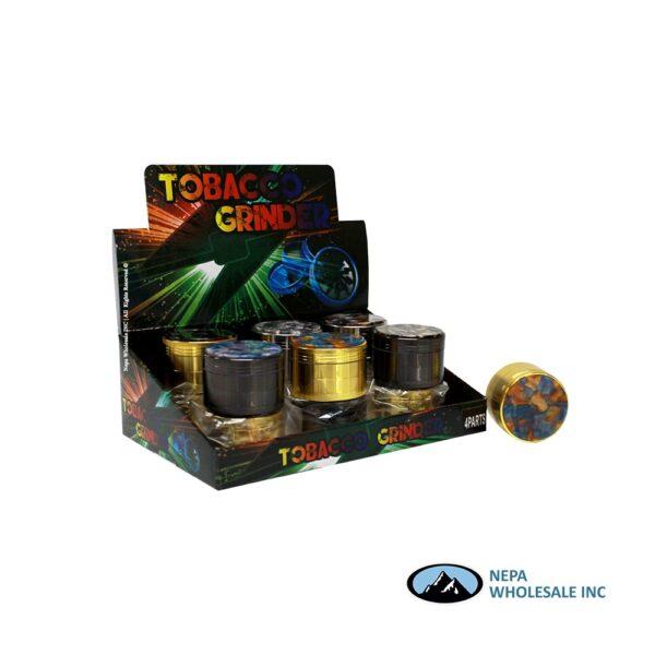 Grinder (Gr189-52Mb) 4 Parts Marbel Top 52mm