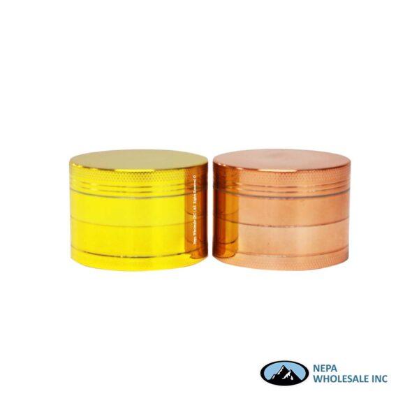 Grinder (Gr201-55G) 4 Parts Light Weight Aluminum Gold 55mm