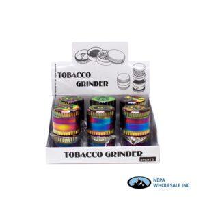 Grinder (Gr203-50Rbrt) 4 Parts Rainbow Rasta Top 50mm