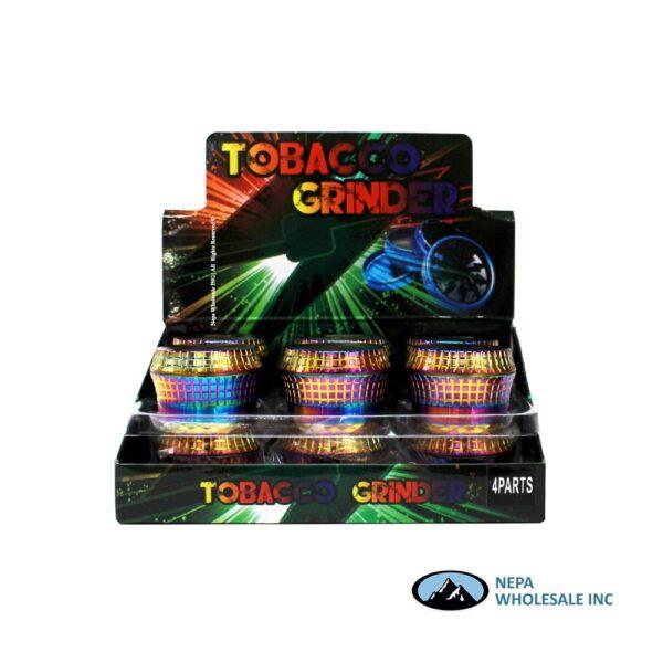 Grinder (Gr206-58Rb) 4 Parts Rainbow Drum 58mm