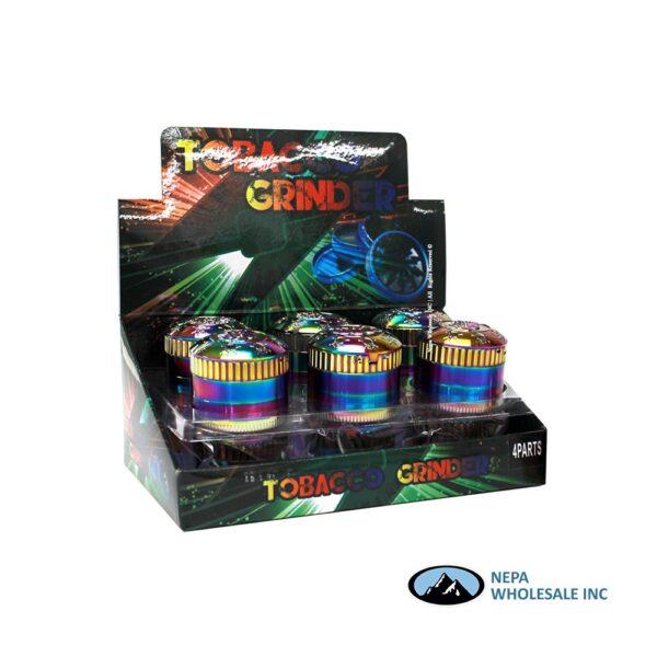 Grinder (Gr208-52Skrb) 4 Parts Rainbow Skull 52mm