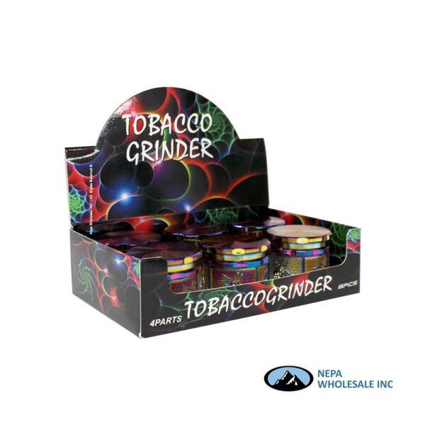Grinder (Gr210-61Sp) Color Spider Side 61mm