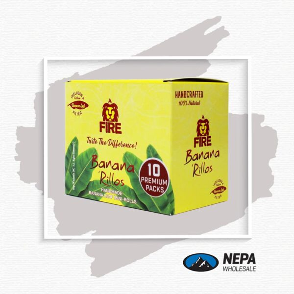 Fire Banana Rillos 10-1 Box