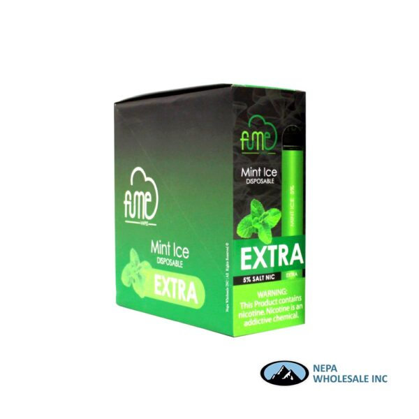 Fume Extra 5% Mint Ice 10Pk Disposable