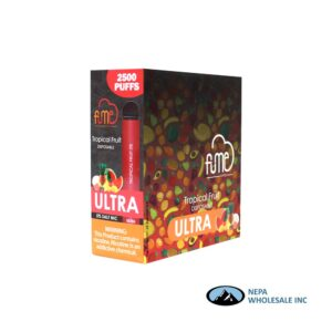 Fume Ultra 5% Tropical Fruit 10Pk Disposable