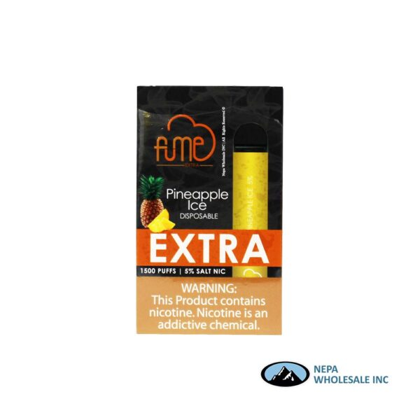 Fume Extra 5% Pineapple Ice 12Pk Disposable