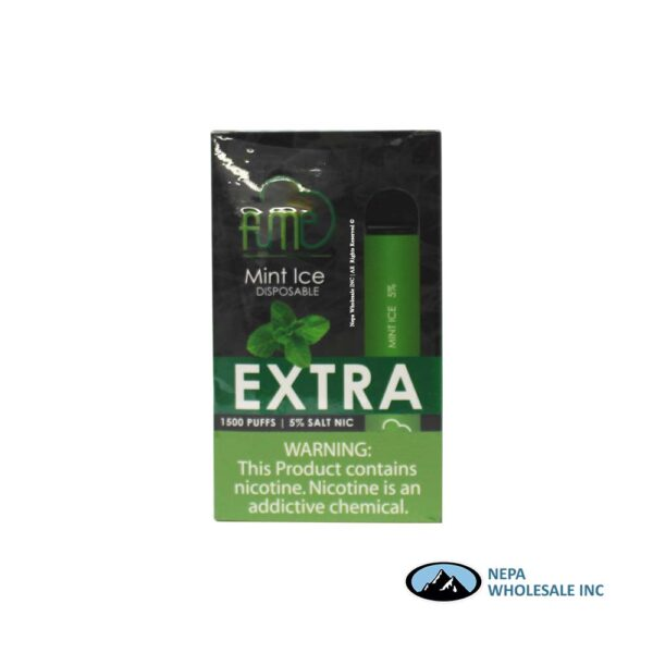 Fume Extra 5% Mint Ice 12Pk Disposable