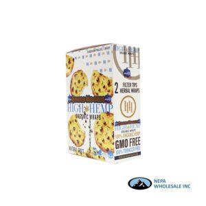 High Hemp 25CT Baked Kookie Organic Wraps