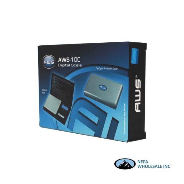 Scale AWS-100 Digital Scale Silver