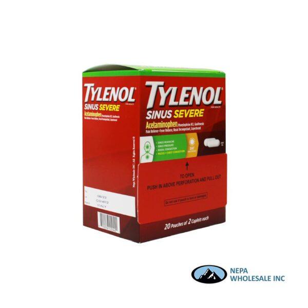 Tylenol Sinus Severe Dispenser 20 X 2'S