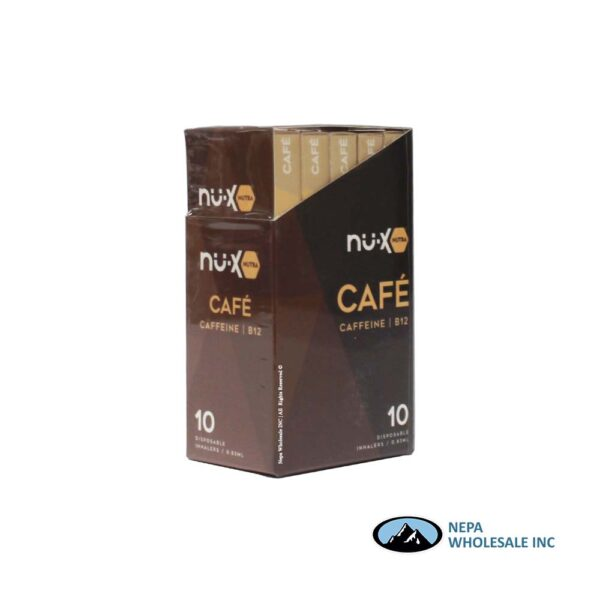 NU-X Cafe 10PK Disposable Inhalers